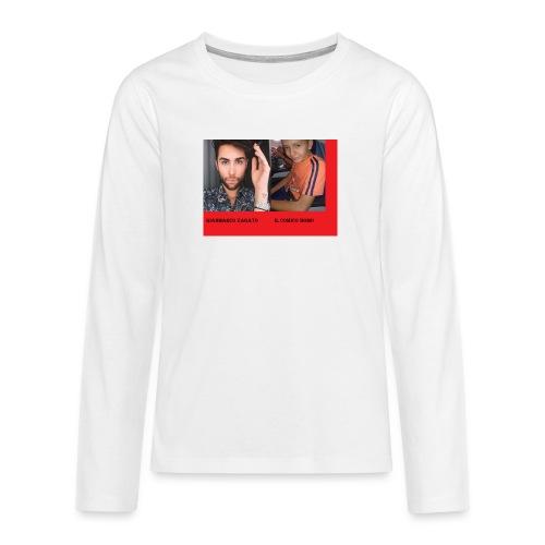 vestito 2 imagini - Maglietta Premium a manica lunga per teenager