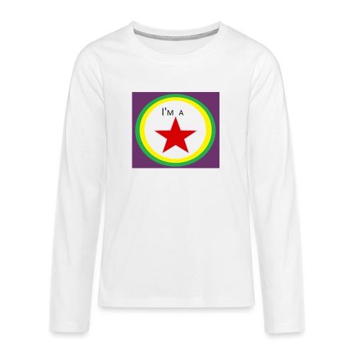 I'm a STAR! - Teenagers' Premium Longsleeve Shirt