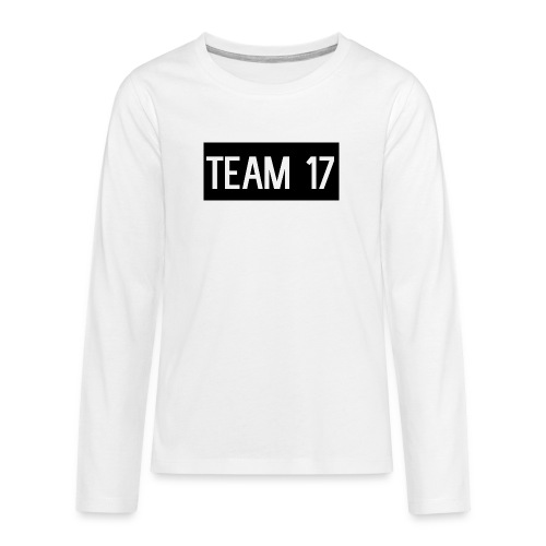 Team17 - Teenagers' Premium Longsleeve Shirt
