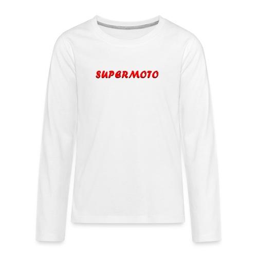 SupermotoLuvan - Långärmad premium T-shirt tonåring
