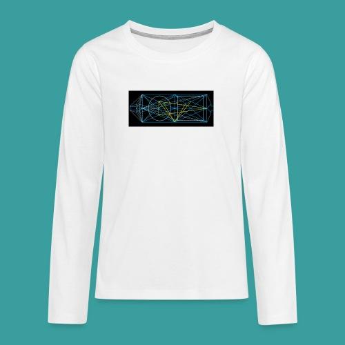 simmetria intelletuale - Maglietta Premium a manica lunga per teenager