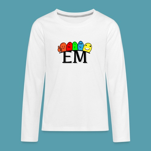 EM - Teinien premium pitkähihainen t-paita