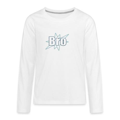 Bro hats and shirts - Teenager premium T-shirt med lange ærmer
