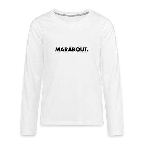 MARABOUT® - Wij helpen, Gambia ontwikkelt - Teenager Premium shirt met lange mouwen