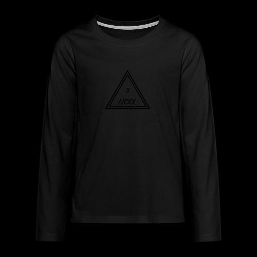5nexx triangle - Teenager Premium shirt met lange mouwen