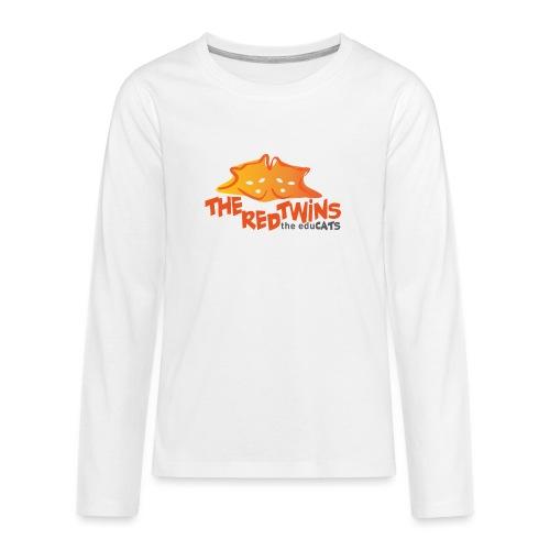 TRT Logo - Maglietta Premium a manica lunga per teenager