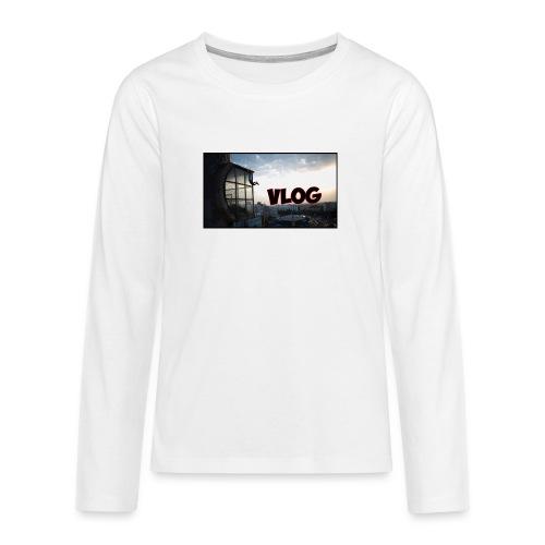 Vlog - Teenagers' Premium Longsleeve Shirt