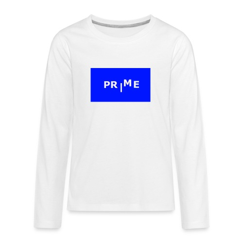 PR|ME - Långärmad premium T-shirt tonåring