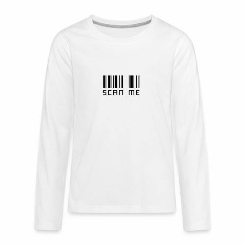 SCANNE MOI - T-shirt manches longues Premium Ado
