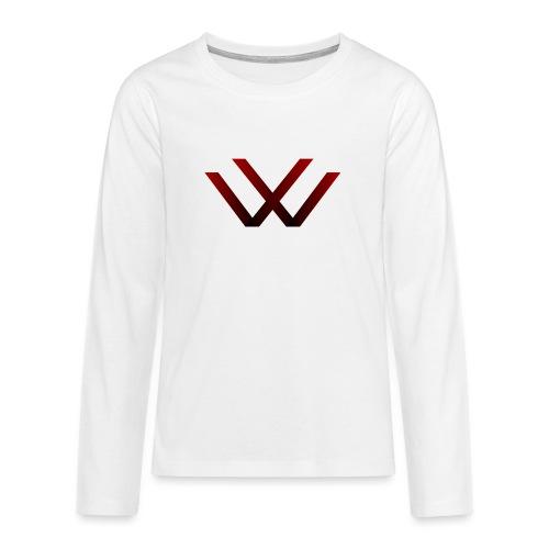 English walaker design - Teenagers' Premium Longsleeve Shirt