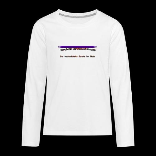 cssder - Teenager Premium Langarmshirt