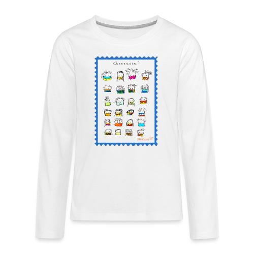 Cheese! - Teenager Premium Langarmshirt