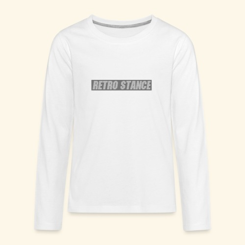Retro Stance - Teenagers' Premium Longsleeve Shirt