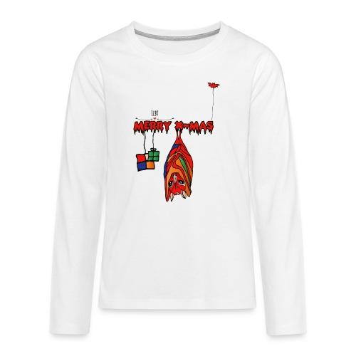 Merry X-MAS - Teenager Premium Langarmshirt