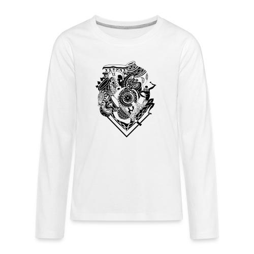 afrocentrique - Teenagers' Premium Longsleeve Shirt