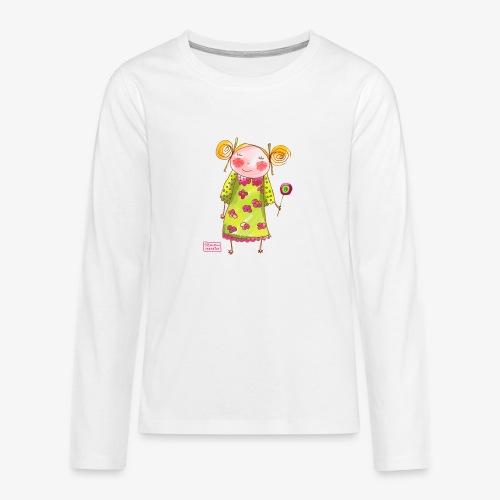 fille happy - T-shirt manches longues Premium Ado