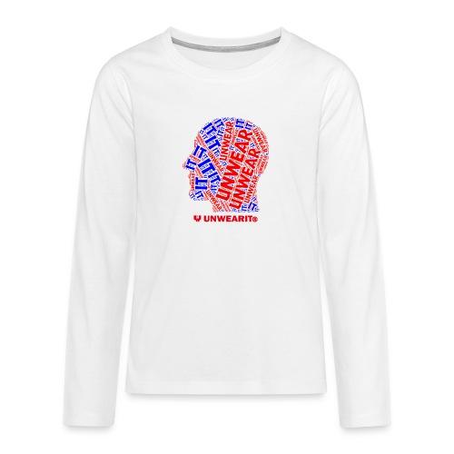 UNWEARIT IN MY MIND - Maglietta Premium a manica lunga per teenager