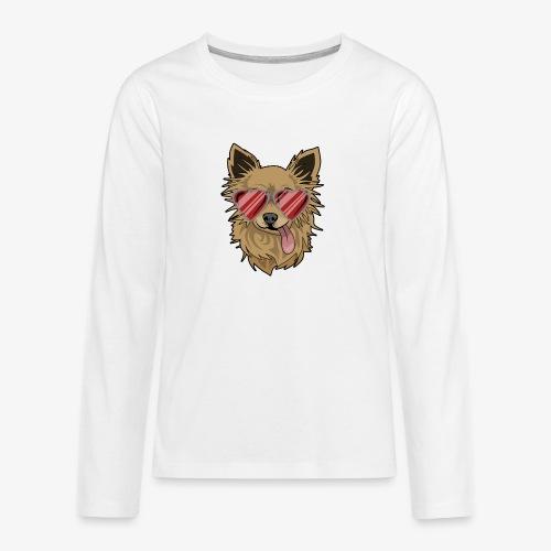 Cool Engla - Långärmad premium T-shirt tonåring