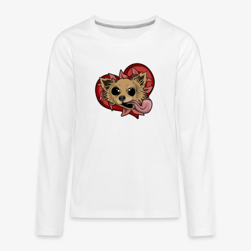 Engla - Långärmad premium T-shirt tonåring
