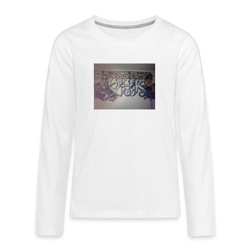 Værebro - Teenager premium T-shirt med lange ærmer