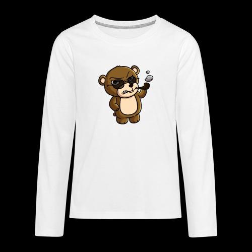 AngryTeddy - Teenagers' Premium Longsleeve Shirt