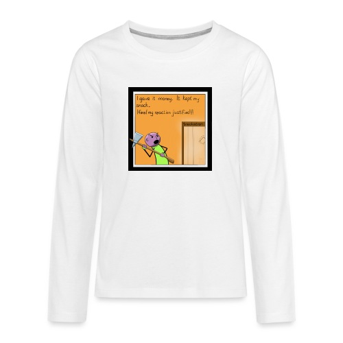 Snack Attack - Teenagers' Premium Longsleeve Shirt