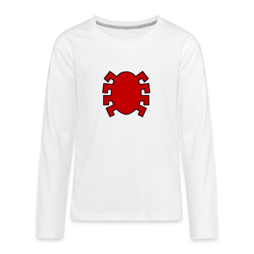 spiderman back - Teenagers' Premium Longsleeve Shirt