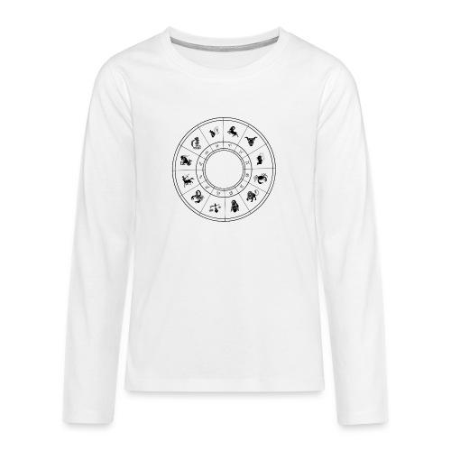 zodiac - Teenagers' Premium Longsleeve Shirt