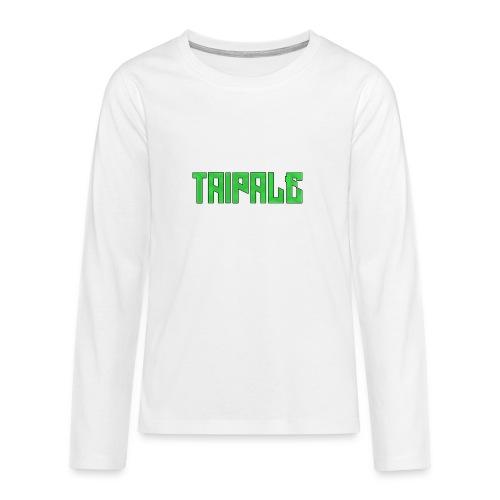 Taipale - Teinien premium pitkähihainen t-paita