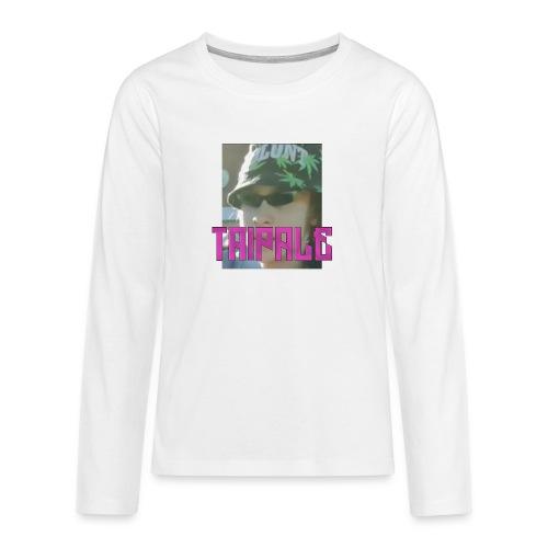 Rare Taipale - Teinien premium pitkähihainen t-paita