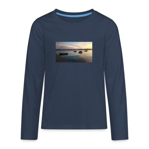 Merch - Teenager Premium Langarmshirt