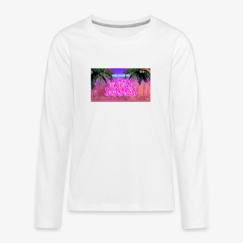 Welcome To Twitch Squads - Teenagers' Premium Longsleeve Shirt