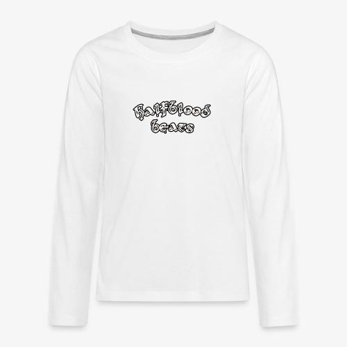 WITTE BRIEVEN - Teenager Premium shirt met lange mouwen