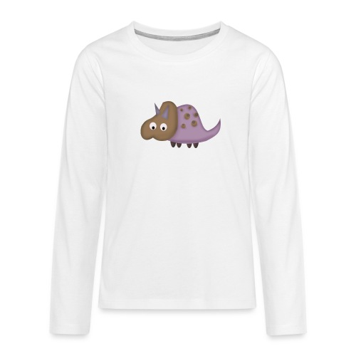 Dino 1 - Teenagers' Premium Longsleeve Shirt