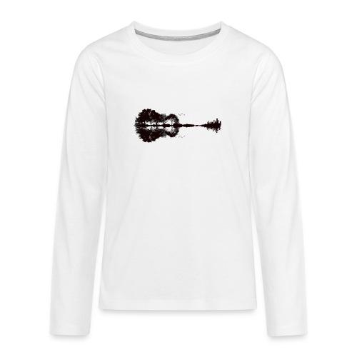 City of Guitar - Teenager Premium Langarmshirt