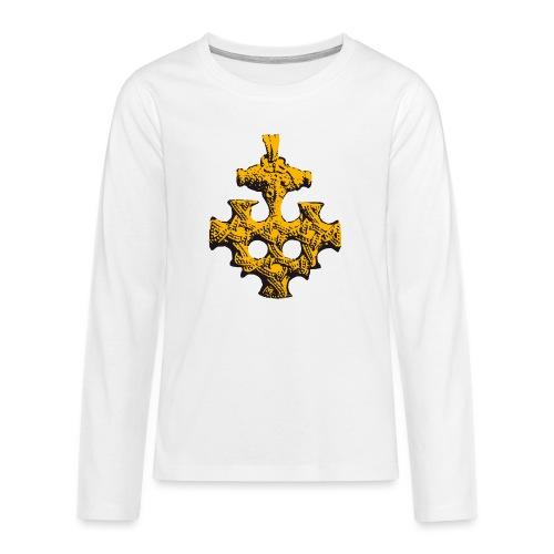 Goldschatz - Teenager Premium Langarmshirt