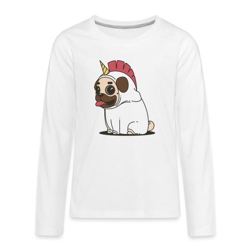 Chien Chien - T-shirt manches longues Premium Ado
