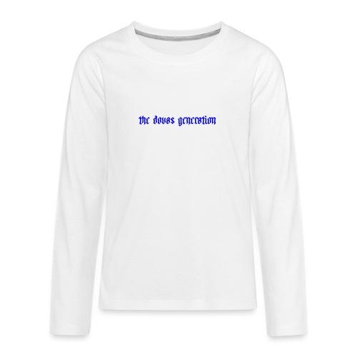 the dovas generation - Långärmad premium T-shirt tonåring