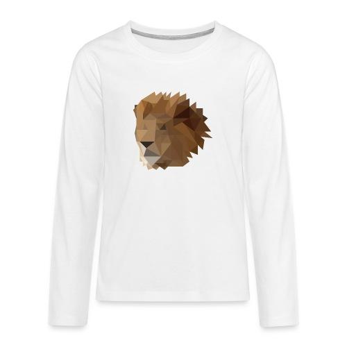 Löwe - Teenager Premium Langarmshirt