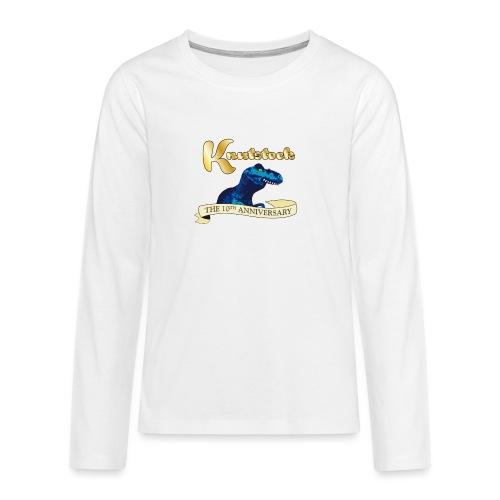 KnutstockAnniversaryBanner Thyranathaurus - Teenager Premium Langarmshirt