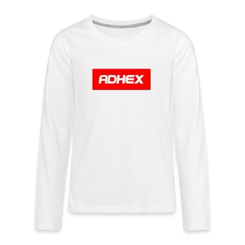Adhex X Suprim - Camiseta de manga larga premium adolescente