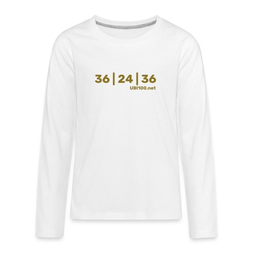 36 | 24 | 36 - UBI - Teenagers' Premium Longsleeve Shirt