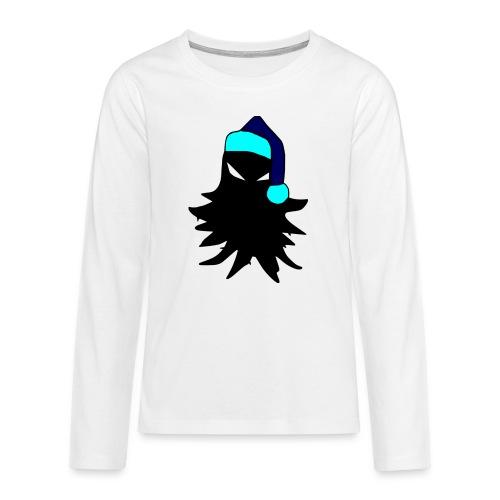 tricolored - Teinien premium pitkähihainen t-paita