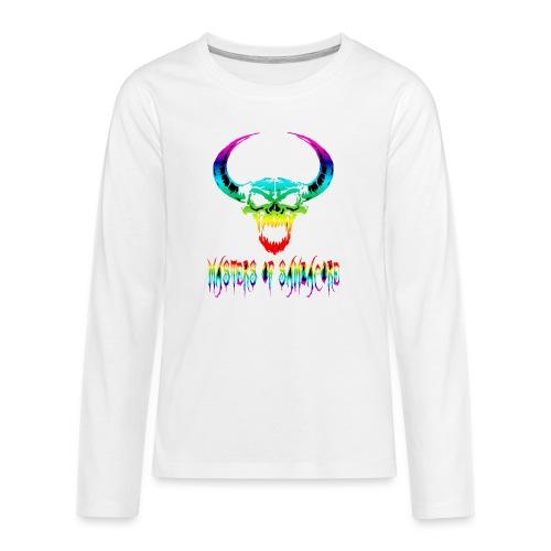 mos2 png - Teenager Premium shirt met lange mouwen