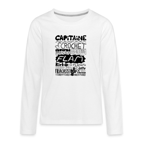 capitaine - T-shirt manches longues Premium Ado