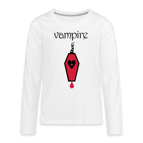 Vampire - Teenagers' Premium Longsleeve Shirt