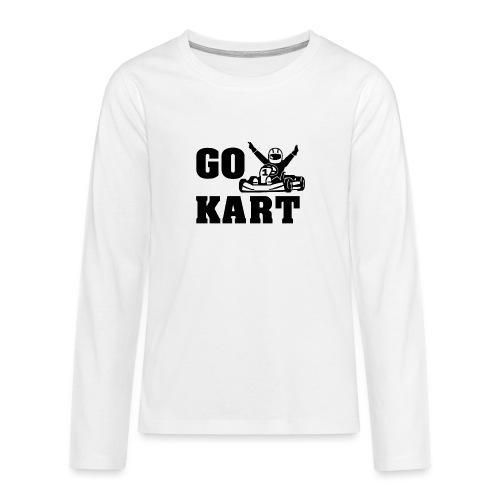 Go kart - T-shirt manches longues Premium Ado