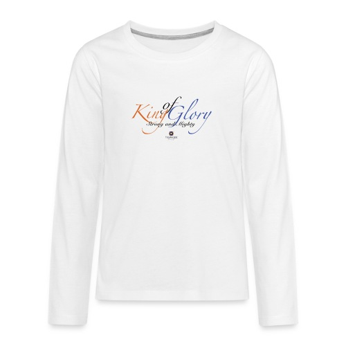 King of Glory by TobiAkiode™ - Teenagers' Premium Longsleeve Shirt