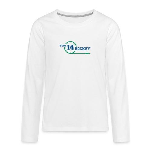 D14 HOCKEY LOGO - Teenagers' Premium Longsleeve Shirt