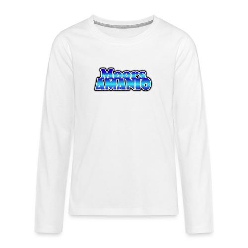 MoorsAmanioLogo - Teenager Premium shirt met lange mouwen